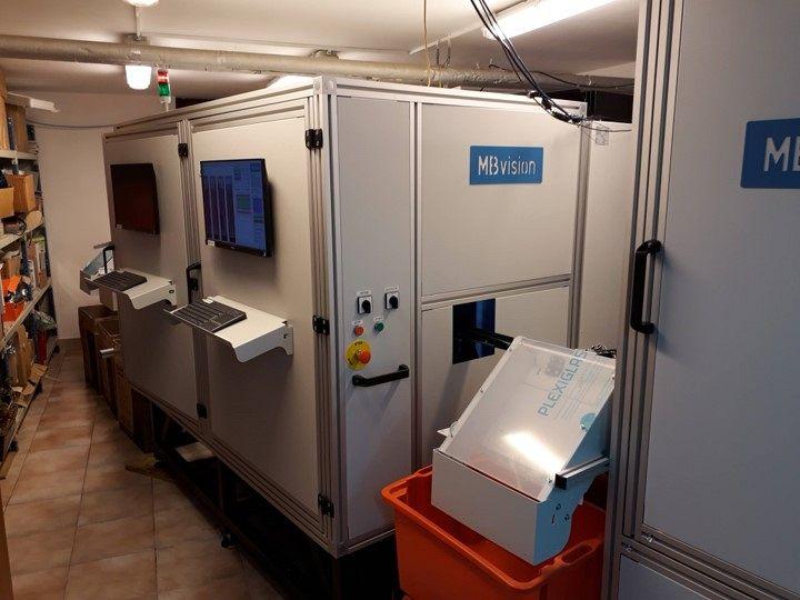 Big dowel sorting system